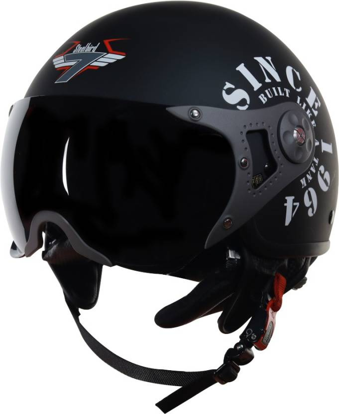 Steelbird SB 27 open face helmet for royal enfiled