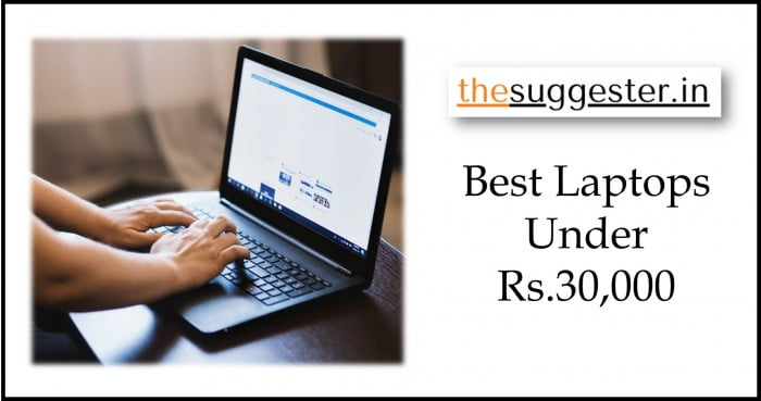 best laptops under 30000 rs in India
