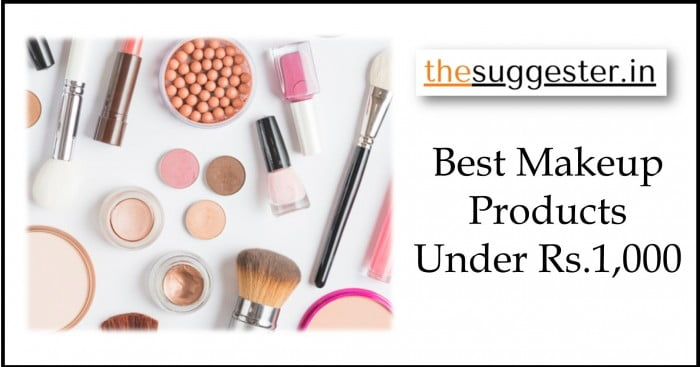best makeup products list in india