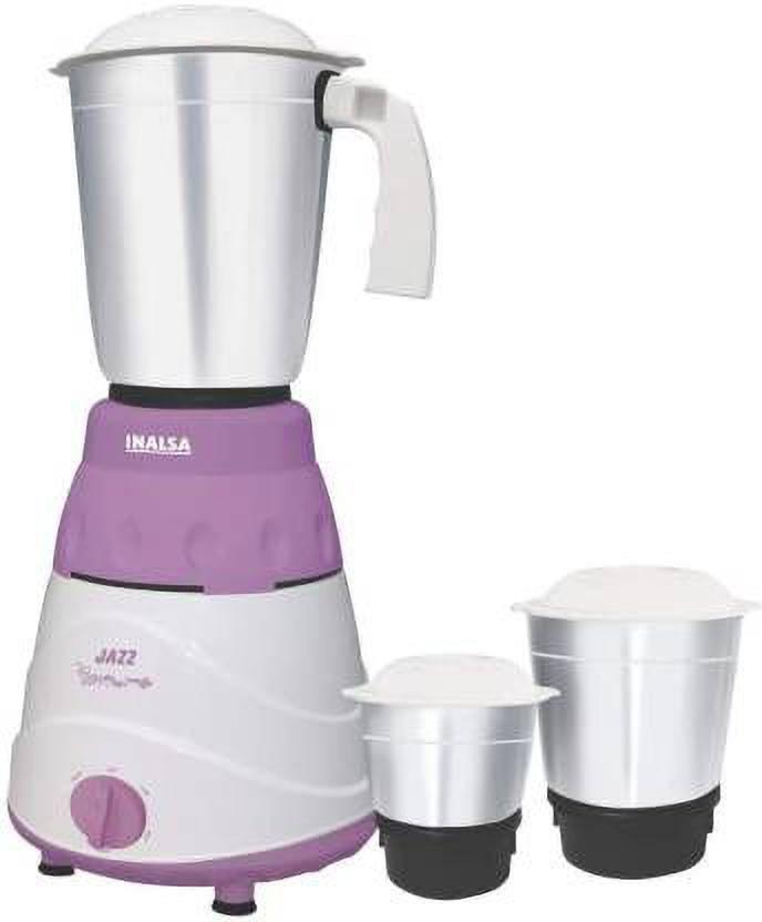 Inalsa Jazz 550-Watt Mixer Grinder with 3 Jars in India