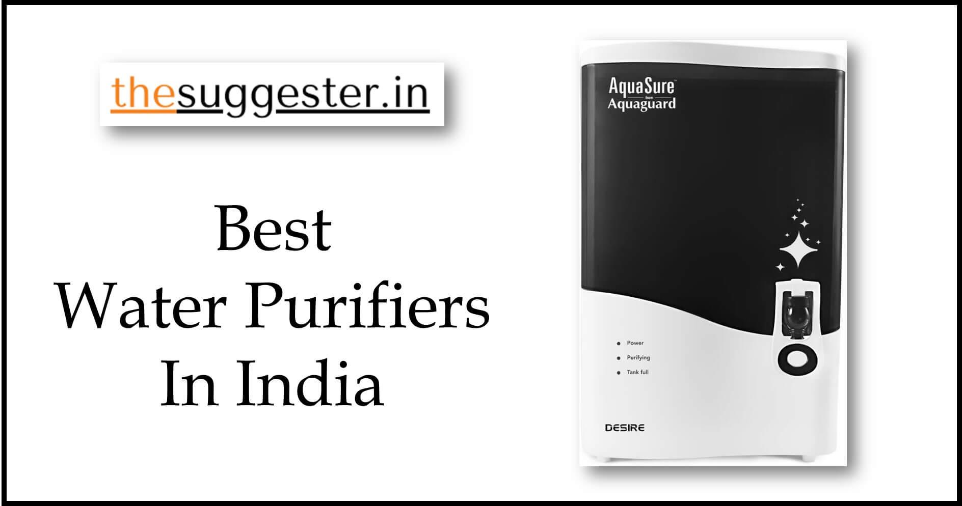 Buy Best Water Purifiers Online in India