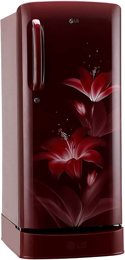 LG 190 L Direct Cool Single Door 4 Star Refrigerator GL-D201ARGY Online In India